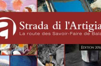 Brochure Strada di L'Artigiani 2016